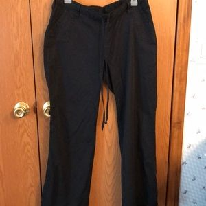 Barco Used Black Scrub Pants good condition